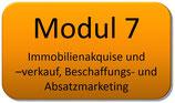Modul 7 – Immobilienakquise – Immobilienverkauf (Beschaffungs- und Absatzmarketing)