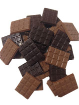 Sachet de mini-tablettes 100grs noirs et lait