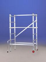 Andamio transformable en escalera 3x6 aluminio modelo MAGO