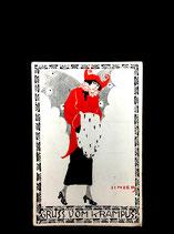 Gruss vom Krampus Susi Singer Postkarte