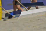 Sandschieber inklusive Stiel - 4 Stück