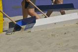 Sandschieber inklusive Stiel