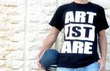 ArtiSTARE Tシャツ(ブラック)