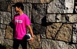ArtiSTARE×SY32 コラボTシャツ/蛍光ピンク