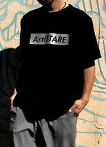 ArtiSTARE×SY32 コラボTシャツ/黒