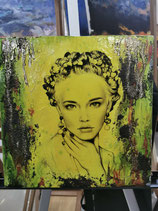 Workshop- Interior Leinwand im Pin Up Stil