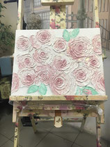 "Canvas ""Textured Roses"""