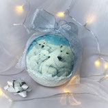 "Christmas Ball ""White Bear"""