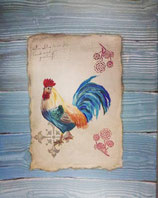 "Canvas ""Rooster"""