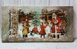 """It's Xmas"" Canvas"