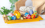 Workshop Easter Eggs. Marble Effect.