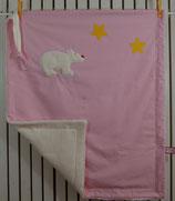 Decke mit Schnuffel Eisbär
