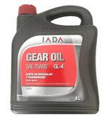 Aceite Iada Gear Oil 75W80 GL-4 (Garrafa 5 litros)