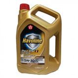 Texaco Havoline 5w30 ProDS V OFERTA 5 LATAS DE 4 LITROS