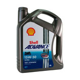 Aceite Shell Advance Ultra 4T 15W50 4L