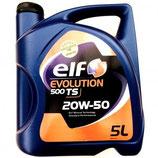 Aceite Elf Evolution 500 TS 20W50 (1 garrafa de 5 litros)