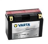 VARTA Motocicleta - FUNSTART AGM -12 V 8ah YT9B-4, YT9B-BS caja de 4 unidades