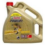 Aceite Castrol Power1 20W50 4T (Garrafa de 4 Litros)