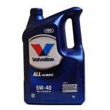 Valvoline All Climate 5W40 C3 5L VALVOLINE (1 garrafa de 5 litros)