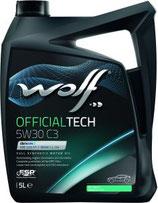 ACEITE WOLF OFFICIALTECH 5W30 C3 (Garrafa de 5 litros)