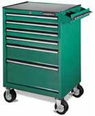 Carro Jonnesway vacío para herramientas con 6 cajones C-6DWB1 color verde