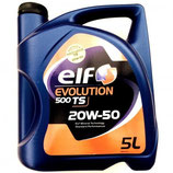 Aceite Elf Evolution 500 TS 20W50 (3 garrafas x 5l.)