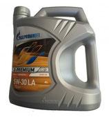 Aceite Gazpromneft X-Premium 5W30 LA (Caja de 3 garrafas de 5 Ltrs.)