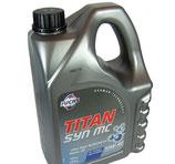 FUCHS TITAN SYN MC SAE 10W-40 (1 garrafa de 5 litros)