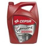Cepsa Genuine 20W50 5L Cepsa (5 latas de 5Litros)