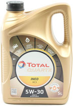 Aceite Total Quartz Ineo MC3 5W-30  (1 garrafa de 5 Litros)