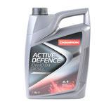 CHAMPION LUBRICANTS ACTIVE DEFENCE 10W40 B4 DIESEL, ACTIVE DEFENCE, 10W40 B4 DIESEL Aceite de motor 10W-40, Capacidad: 5L, aceite parcialmente sintético