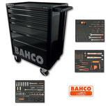 Carro con herramientas Bahco con 6 cajones y 210 herramientas