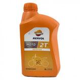 Aceite Repsol Moto Sintetico 2t 1Ltr