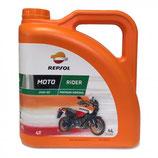 Aceite Repsol Moto Rider 4t 20w50 4Ltrs
