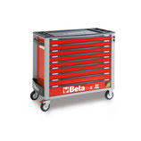Carro herramientas Beta C24SAXL/9-R-CAJONERA MODELO LARGO Color Rojo