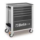 Carro herramientas Beta C24S 6/G-CAJONERA MÓVIL 6 CAJONES GRIS