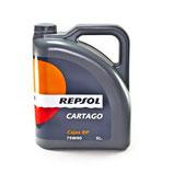 REPSOL CARTAGO CAJAS EP 75W90 (OFERTA 1 caja 4 garrafas de 5 litros)