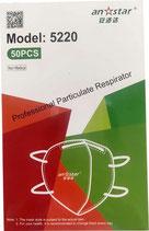Mascarilla FFP2 Homologada en la Unión Europea 800 unid (80 cajas de 10 mascarillas)