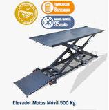 Elevador Motos Móvil 500 Kg 4EM0300