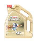 CASTROL EDGE, V Aceite de motor  0W-20, (1 garrafa de 5 Litros)