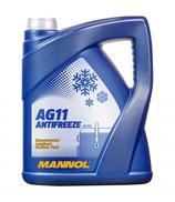MANNOL AG11 Longterm Anticongelante concentrado Capacidad: 5L