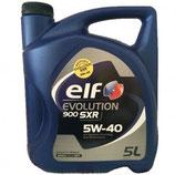 Aceite Elf Evolution 900 SXR 5W40 (1 garrafa de 5 litros)