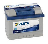Batería Varta Blue Dynamic 12V. 60Ah. D-24  242X175X190mm. + Derecha