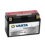 VARTA Motocicleta - FUNSTART AGM -12 V 7ah YT7B-4, YT7B-BS caja de 6 unidades