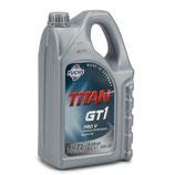 Aceite de motor Fuchs Titan 0w20 gt1 pro v  (1 Garrafa 5 litros)