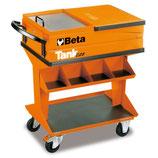 Carro de herramientas Beta C25-Carro TANK CON BANDEJA