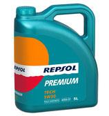 Lata lubricante Repsol PREMIUM TECH 5W-30 5 litros