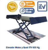 Elevador Motos y Quad ITV 600 Kg 4EM0400/2 ITV