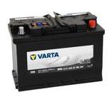 BATERÍA VARTA PROMOTIVE BLACK L5 12V. 110AH. CAMIÓN/AUTOBÚS