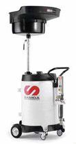 Recuperador móvil 100 l descarga por bomba neumática de diafragma SAMOA 372 260